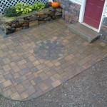 Paver Entrance way done in Center Harbor NH