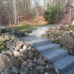 Granite Steps installed in Meredith NH