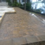 Paver Patios Installed in New hampshire, Belknap County.