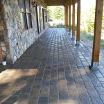 Paver Patio installed in Meredith New Hampshire Belknap County