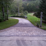 Permeable Pavers installed in New Hampshire