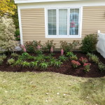After Picture of landscaping in Laconia New Hampshire
