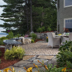 Lakefront Landscaping by Natures Elite Landscaping Gilford NH .