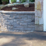 Belair Wall installed by Natures Elite Landscaping