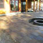 Recessed Fire Pit Waterville Valley NH