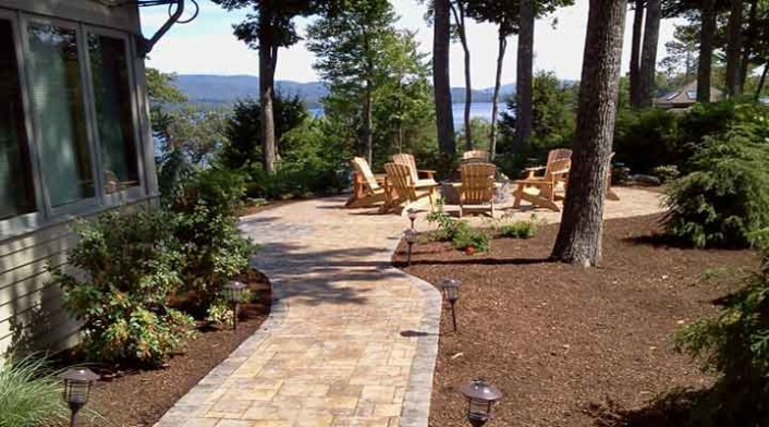New Found Lake Patio