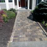 Belgard Paver walkway installed in Meredith New Hampshire
