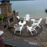 Outdoor fireplaces, Gilford, Meredith,Laconia, Alton, Belknap County, New Hampshire