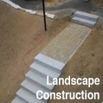 our services landscape construction